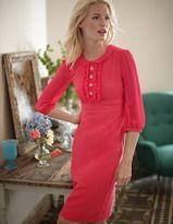 3 4 length sleeve dresses-lucy dress - Boden
