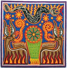 12 Mexican Huichol Deer and Peyote yarn painting by Aramara I Shop, My Etsy Shop, Yarn Painting, Hispanic Heritage, Deer, Art Projects, Mexican, Positive Messages, Summer School