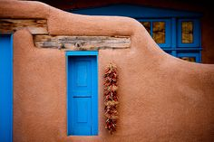 I took a picture of this when we were in ...Downtown Taos, New Mexico - the Quintessential Southwest