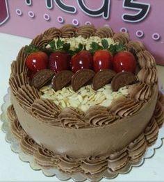 Cake Cake Icing, Buttercream Cake, Cupcake Cakes, Gourmet Cakes, Different Cakes, Dessert Decoration, Cake Board, Love Cake, Pretty Cakes