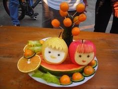 Fruit Carving - Vegetable Carving - Get Creative! Fruit Vegetable Art | Blog | GirlyBubble