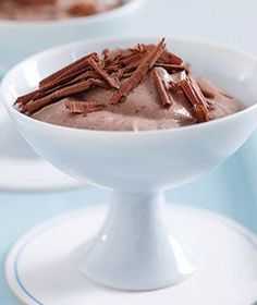 Chocolate Ricotta Mousse | Get the recipe for Chocolate Ricotta Mousse.
