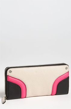 Milly 'Zoey' Zip Around Wallet available at #Nordstrom