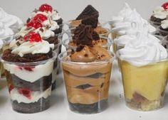 Postres!... quien dijo : Yo!? / Paula Aguirre pastry design Wedding Desserts, Mini Desserts, No Bake Desserts, Mini Dessert Cups, Dessert Dishes, Dessert Table, Dessert Shooters, Pastry Design, Cooking
