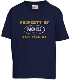Pack 153's Class-B YOUTH shirts!