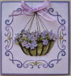 Embroidery Cards, Hand Embroidery, Parchment Craft, Quilling Patterns, Edge Stitch, String Art, Annie, Christmas Cards, Card Making