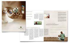 Contoh Pamflet Brosur Investasi Hari Tua