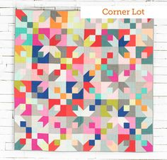 Boundless Solids Call Me Contemporary Fabric and Craftsy Mixers Pattern Quilt Kits - None