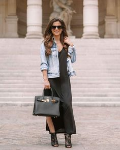 Jean Jacket Styles, Jean Jacket Outfits, Denim Jacket Fashion, Denim Blazer, Light Blue Jean Jacket, Light Blue Jeans, Light Denim, Denim Claro, Jacket Brands