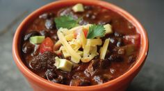 Game Day Pork & Black Bean Chili - Tailgater Monthly - Scout
