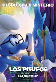 Smurfs The Lost Village Character Posters