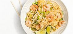 the 4 Cycle Solutions Japanese Diet - Shrimp pad thai. tried this out, minus the shrimp, plus some chicken and veggies. Easy and delicious! Discover the Worlds First & Only Carb Cycling Diet That INSTANTLY Flips ON Your Bodys Fat-Burning Switch Yummy Pasta Recipes, Wine Recipes, Food Network Recipes, Asian Recipes, Healthy Recipes, Thai Recipes, Tasty Meals, Delicious Dishes, Quick Recipes