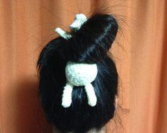 Amigurumi Hair Bow Back