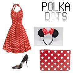 """Dotty for Polka Dots"" by jlcisternelli on Polyvore featuring Oscar de la Renta and Comme des Garçons"