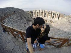 Teatro Romano - Hierápolis #hierápolis #pamukkale #turquia