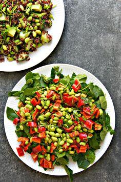 Nemme salat opskrifter er vanvittig lækre, sprøde og glutenfrie. Få opskrifterne på pestosalat og den bedste avokadosalat.