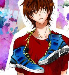 He reminds me of an anime character I created Anime Sexy, Me Anime, Hot Anime Boy, I Love Anime, Anime Guys, Manga Girl, Naruse Shou, Namaikizakari, Ao Haru