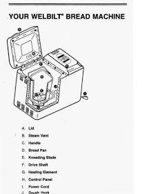 Instructions for the Magic Chef Bread Maker Model CBM-310