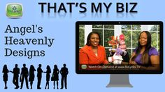 """http://www.BizLynks.TV Looking for unique gift ideas? Listen to Angel Jackson of Angel's Heavenly Designs as she shares her creative gifts with Pamela Alexander, BizLynks TV Network's host of """"That's My Biz"""" show."""