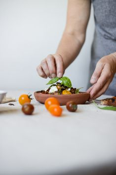 Schnelle Sommerküche: Mediterraner Brotsalat