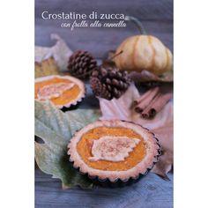 crostatine di zucca con frolla alla cannella