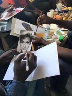 THE VALUE OF JOINT ATTENTION: Art Therapy practice in Calais with Art Refuge UK #ArtTherapy