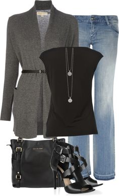 """MK"" by melindatg ❤ liked on Polyvore"