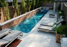 Swimmingpool Design Hinterhof Gestaltung Ideen Tipps Entspannung |  Garten~Garden | Pinterest | Hinterhof, Entspannung Und Tipps