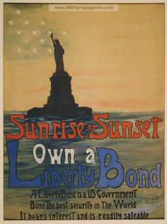 Examples of Propaganda from WW1   WW1 War Bond Posters Page 111