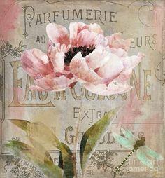 Jardin Rouge I Painting