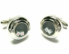Real Functional Dice Craps Cufflinks CuffCrazy. $23.88. Free Gift Box Included!. Money Back if not 100% Satisfied. Real Working Dice Cufflinks!