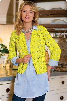 Celine Crochet Cardi