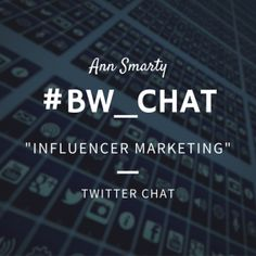 I was invited to host #BW_Chat by @Brandwatch to chat about influencer marketing and I thought I'd share my answers here as well! What can brands achieve