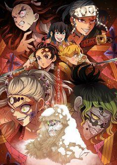 Demon Slayer: Kimetsu No Yaiba manga online Manga Anime, Anime Demon, Otaku Anime, Anime Art, Demon Slayer, Slayer Anime, Anime Drawing Styles, Hxh Characters, Desenho Tattoo