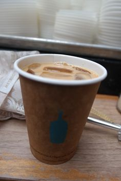 Bluebottle coffee in San Francisco. Hand drip coffee. It's amazing!