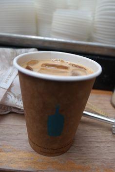Bluebottle coffee in San Francisco. Hand drip coffee. It's amazing!