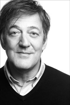 Stephen Fry - full of wisdom and discussions