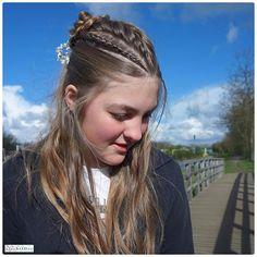 Half #updo with a #frenchbraid and 2 French #lacebraid 💖 #hair #hairstyle #instahair #hairstyles #hairdo #braid #plait #stunninghair #beautifulhair #longhair #braidinspo #hairoftheday #hairideas #beautifulhair #braidideas #hairofinstagram #hairfashion #coolhair #veselovatskaya_nastia #hotbraidsmara #love #cute #follow #modernsalon #behindthechair