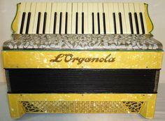 Very Rare Old Antique Original German Accordion by Harmony4Life, $750.00