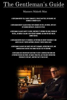 The Kingsman Gentlemen's Guide