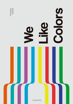 Poster by Xavier Esclusa / Twopots Design Studio. A series of self advertising posters for Twopots Design Studio We bank on simplicity, we love the Swiss line of design We believe that less is more. Simple but visually powerful, that's what defines & Minimalist Poster Design, Graphic Design Posters, Graphic Design Typography, Graphic Design Inspiration, Simple Poster Design, Game Design, Layout Design, Web Design, Posters Conception Graphique