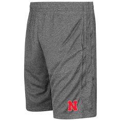 Nebraska Cornhuskers Colosseum Sidler Shorts - Heathered Charcoal