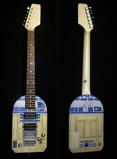 The R2D2 guitar!