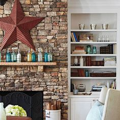 This rustic home makeover fits perfectly with the farmhouse style trend that's popular right now. Get decor tips and inspiration for your house with our shabby chic ideas.