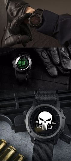 Garmin Tactix Bravo, Black with Nylon Strap EDC tactical watch for military special operators - EDC Everyday Carry - watches, mvmt, ladies, cartier, apple, black watch *ad