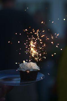 I love sparklers!