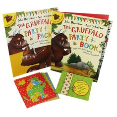 The Gruffalo Party Pack by Julia Donaldson and Axel Scheffler | Activity Packs at The Works