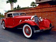 1933 Mercedes Benz 380 Cabriolet