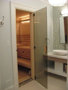 Finnleo Custom Series Sauna With Pikutonntu Heater Weston Ma Purchased Designed Installed