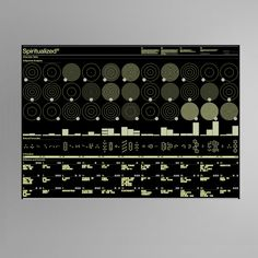 ModularLab / Spiritualized / Chemists Table / Poster / 2008